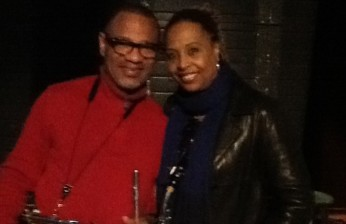Kirk Whalum and Kim at the Lincoln Theater (DC)