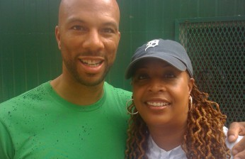 Common and Kim at Central Park (NYC)