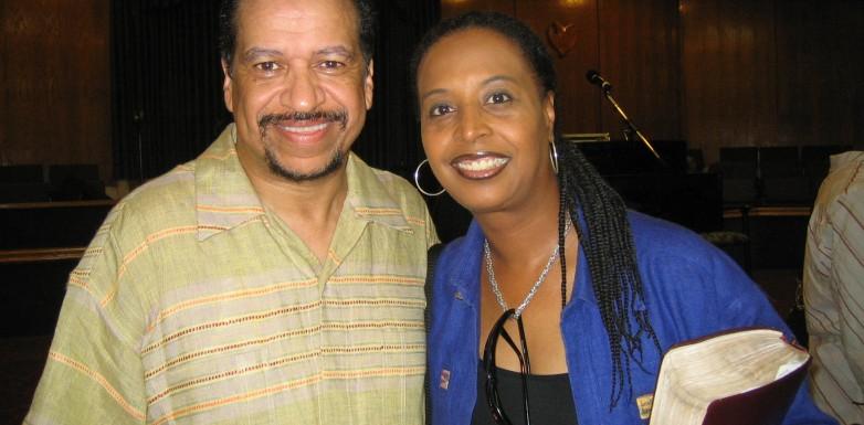 Kim and Richard Smallwood (San Francisco)