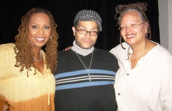 Kim, Derrick Rutledge and Leigh Mosley (DC)