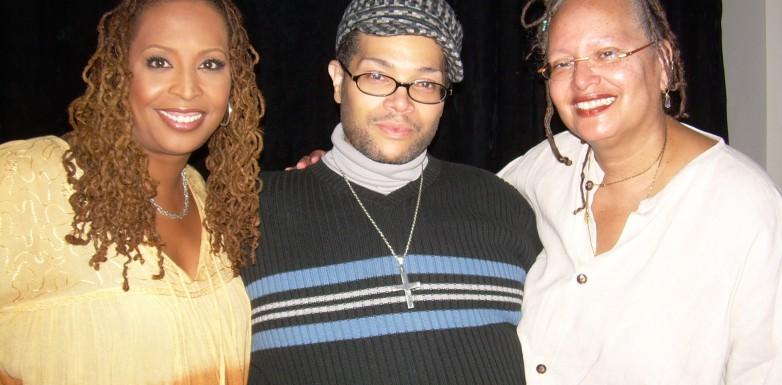 Kim, Derrick Rutledge and Leigh Mosley (DC)