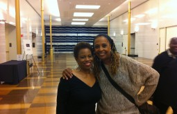 Regina Carter and Kim at the Kennedy Center (DC)