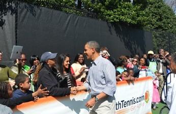Kim and President Obama (White House)