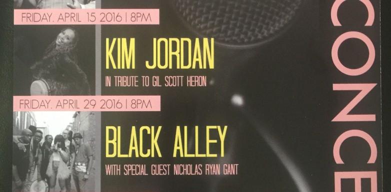 Kim Jordan plays at The ARC Theater